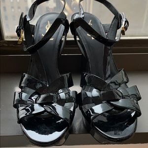YSL Tribute Patent Leather Heels